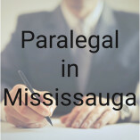 Paralegal in Mississauga