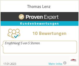 Erfahrungen & Bewertungen zu Thomas Lenz