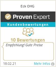 Erfahrungen & Bewertungen zu Eck OHG