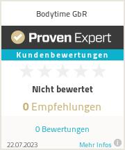 Erfahrungen & Bewertungen zu Bodytime GbR