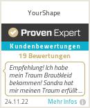 Erfahrungen & Bewertungen zu YourShape