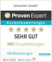 Erfahrungen & Bewertungen zu Scheufen GmbH