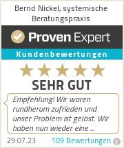 Erfahrungen & Bewertungen zu Bernd Nickel, systemische Beratungspraxis