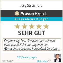 Erfahrungen & Bewertungen zu Jörg Streichert