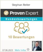 Erfahrungen & Bewertungen zu Stephan Reiter