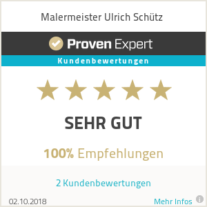 Erfahrungen & Bewertungen zu Malermeister Ulrich Schütz