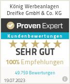 Erfahrungen & Bewertungen zu König Werbeanlagen Dreifke GmbH & Co. KG