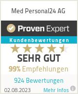 Erfahrungen & Bewertungen zu Personal24 GmbH