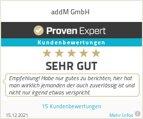 Erfahrungen & Bewertungen zu addM GmbH