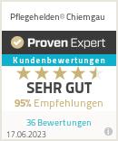 Erfahrungen & Bewertungen zu Pflegehelden® Chiemgau
