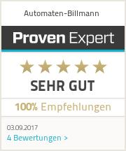 Erfahrungen & Bewertungen zu Automaten-Billmann
