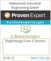 Erfahrungen & Bewertungen zu Kaltschmid Industrial Engineering GmbH