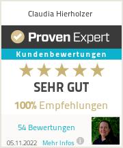 Erfahrungen & Bewertungen zu Claudia Hierholzer