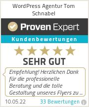 Erfahrungen & Bewertungen zu WordPress Agentur Tom Schnabel