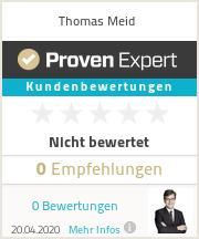 Erfahrungen & Bewertungen zu Thomas Meid