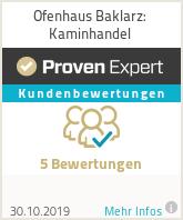Erfahrungen & Bewertungen zu Ofenhaus Baklarz: Kaminhandel
