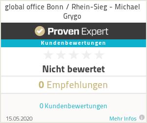 Erfahrungen & Bewertungen zu global office Bonn / Rhein-Sieg - Michael Grygo