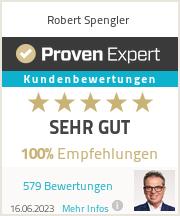 Erfahrungen & Bewertungen zu Robert Spengler