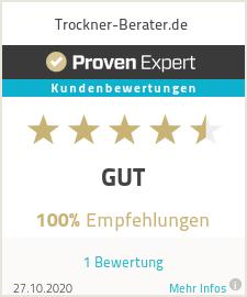 Erfahrungen & Bewertungen zu Trockner-Berater.de