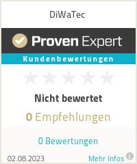 Erfahrungen & Bewertungen zu DiWaTec