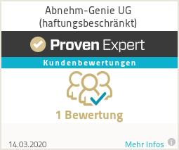 Erfahrungen & Bewertungen zu Abnehm-Genie UG (haftungsbeschränkt)
