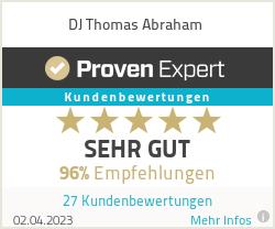 Erfahrungen & Bewertungen zu DJ Thomas Abraham