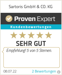 Erfahrungen & Bewertungen zu Sartoris GmbH & CO. KG