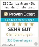 Erfahrungen & Bewertungen zu ZZD Zahnzentrum - Dr. med. dent. Hubertus Klaus M.Sc.