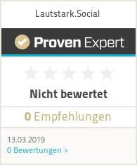 Erfahrungen & Bewertungen zu Lautstark.Social
