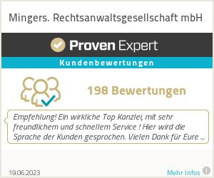 Erfahrungen & Bewertungen zu Mingers & Kreuzer Rechtsanwälte