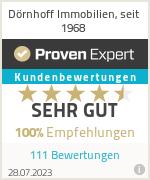 Erfahrungen & Bewertungen zu Dörnhoff Immobilien, seit 1968