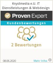 Erfahrungen & Bewertungen zu Krystmedia e.U. IT Dienstleistungen & Webdesign