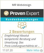 Erfahrungen & Bewertungen zu MR Webdesign