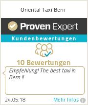 Erfahrungen & Bewertungen zu Oriental Taxi Bern