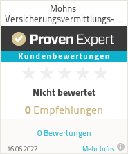 Erfahrungen & Bewertungen zu Mohns Versicherungsvermittlungs- und Verwaltungs- GmbH