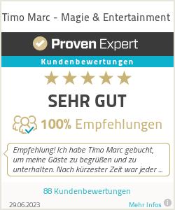 Erfahrungen & Bewertungen zu Timo Marc - Magie & Entertainment