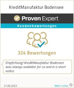 Erfahrungen & Bewertungen zu KreditManufaktur Bodensee