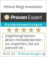Erfahrungen & Bewertungen zu Helmut Niegl Immobilien