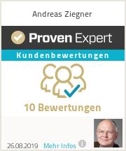 Erfahrungen & Bewertungen zu Andreas Ziegner
