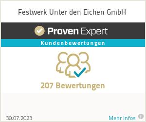 Erfahrungen & Bewertungen zu Festwerk Unter den Eichen GmbH