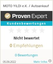 Erfahrungen & Bewertungen zu MOTO YILDI e.K. / Autoankauf