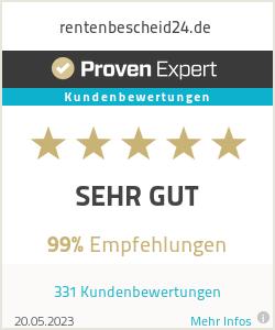 Erfahrungen & Bewertungen zu rentenbescheid24.de
