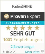 Erfahrungen & Bewertungen zu FadenSHINE