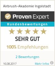 Erfahrungen & Bewertungen zu Airbrush-Akademie Ingolstadt