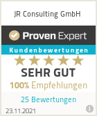 Erfahrungen & Bewertungen zu JR Consulting GmbH