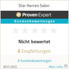 Erfahrungen & Bewertungen zu Star Herren Salon