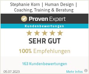 Erfahrungen & Bewertungen zu Stephanie Korn | Human Design | Coaching, Training & Beratung