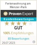 Erfahrungen & Bewertungen zu Ferien-Wohnung am Menzer-Park