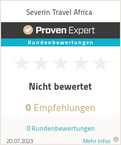 Erfahrungen & Bewertungen zu Severin Travel Africa