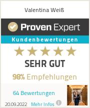 Erfahrungen & Bewertungen zu Valentina Weiß